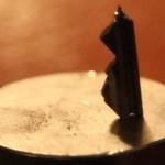 Supermagnet angelt sich abgebrochenen Schlüssel